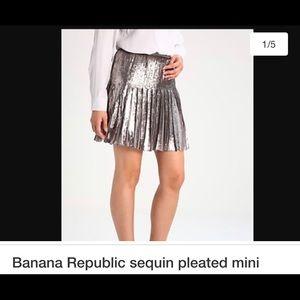 Never-been-worn Sequin Skirt from Banana Republic